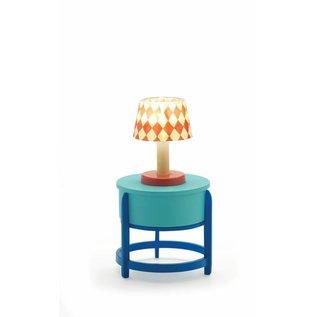 Djeco Djeco poppenhuis inrichting Tafellamp met LED-verlichting DJ07830