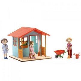 Djeco Djeco poppenhuis tuinhuisje