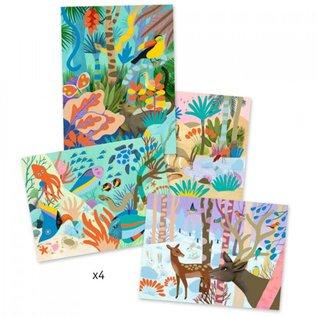 Djeco Djeco knutselpakket Schilderen op nummer - De natuur DJ08965