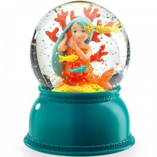 Djeco Djeco sneeuwbol en nachtlampje Zeemeermin
