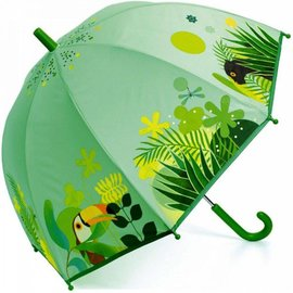 Djeco Djeco kinderparaplu Tropical Jungle