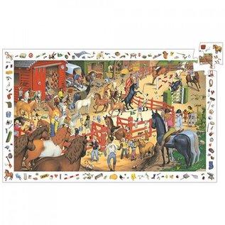 Djeco Djeco puzzel Paarden