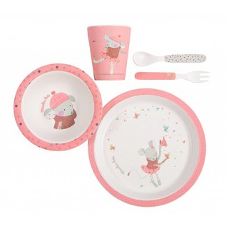 Moulin Roty Moulin Roty servies set roze 665232