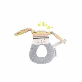Moulin Roty Moulin Roty ring-rammelaar konijn 663006