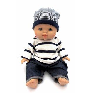 Paola Reina Paola Reina babypop Gordi jongen Albert (gekleed, 34 cm)