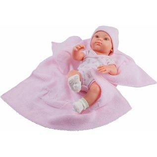 Paola Reina Paola Reina babypop Mini Pikolines meisje met omslagdoek (gekleed, 32cm)