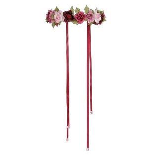 Great Pretenders Great Pretenders verstelbare roze bloemenkrans