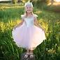 Great Pretenders Great Pretenders roze prinsessenjurk met zilveren pailletten
