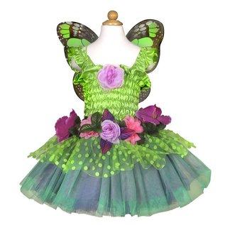 Great Pretenders Great Pretenders groene feeënjurk met bloemen en vleugels