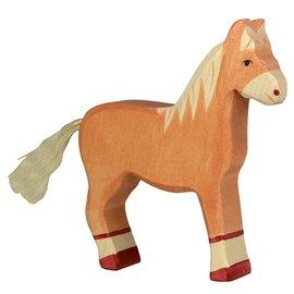 Holztiger Holztiger paard licht bruin