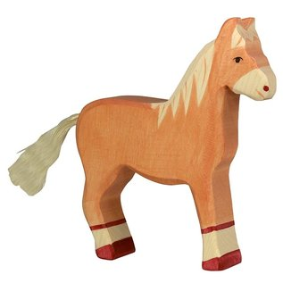 Holztiger Holztiger paard licht bruin 80033