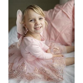 Great Pretenders Great Pretenders roze/gouden tutu rok met vleugels (4-7 jaar)