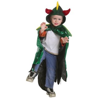 Great Pretenders Great Pretenders Dragon  Cape (5-6 jaar)