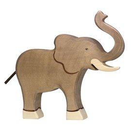 Holztiger Holztiger olifant slurf omhoog