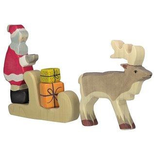 Holztiger Holztiger kerstman 80318