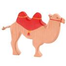 Ostheimer Ostheimer kameel met rood zadel