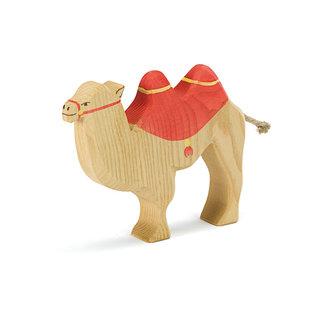 Ostheimer Ostheimer kameel met rood zadel 42191