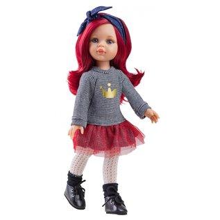 Paola Reina Paola Reina Pop Amigas Dasha rood haar (32cm)