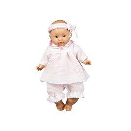 Paola Reina Paola Reina Pop Ameli meisje blank, jurk roze (32cm)