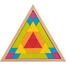 Goki Mozaïek puzzel  driehoek