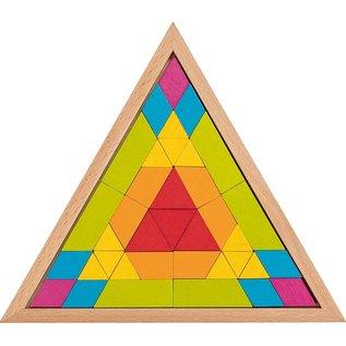Goki Goki Mozaïek puzzel  driehoek