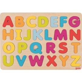 Goki Puzzel alfabet
