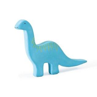Tikiri Tikiri Bijt- en Badspeelgoed Dino Brontosaurus