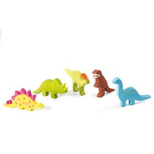 Tikiri Tikiri Bijt- en Badspeelgoed Dino Parasaurolophus