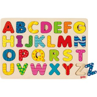 Goki Alfabet puzzel