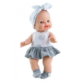 Paola Reina Paola Reina Pop Gordi meisje egeltjesjurk (34 cm)