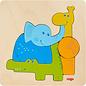 Haba Haba houten puzzel dierentuindieren