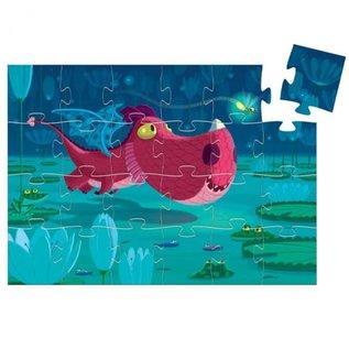Djeco Djeco puzzel Edmond de draak 24 stukjes