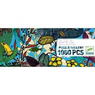 Djeco Djeco puzzel 100 stukjes - Land en zee - DJ07646
