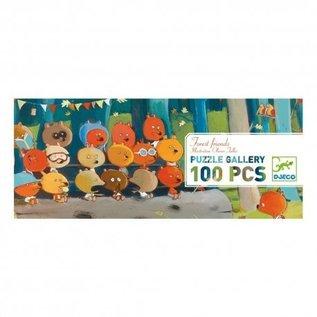 Djeco Djeco puzzel Bosdieren 100 stukjes
