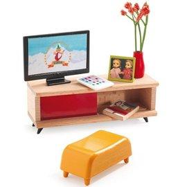 Djeco Djeco poppenhuis televisiekamer