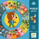Djeco Djeco puzzel XL De Dag 24 st