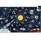 Djeco Djeco observatie puzzel Space 200 stukjes incl. boekje DJ07413