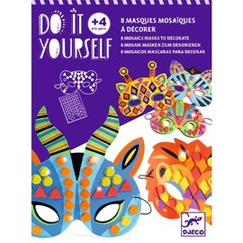 Djeco Djeco knutselset Maskers maken - Jungle