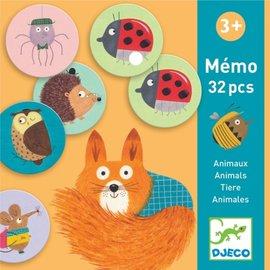 Djeco Djeco memorie Dieren 32 stukjes