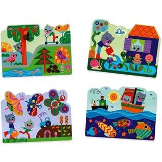 Djeco Djeco kleuren met water - in de tuin DJ09063