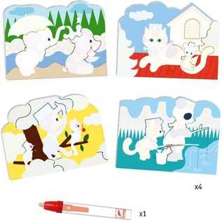 Djeco Djeco kleuren met water - buiten DJ09065
