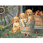 Cobble Hill Cobble Hill puzzel - Puppy pail 400 stukjes
