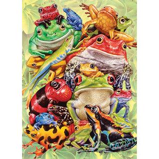 Cobble Hill Cobble Hill puzzel - Frog pile 350 stukjes