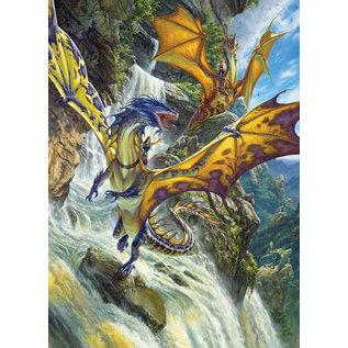 Cobble Hill Cobble Hill puzzel - Waterfall dragons 1000 stukjes