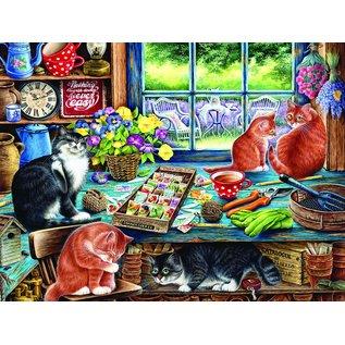 Cobble Hill Cobble Hill puzzel - Cats retreat 275 stukjes