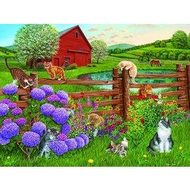 Cobble Hill Cobble Hill puzzel - Farm cats