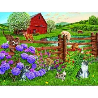 Cobble Hill Cobble Hill puzzel - Farm cats 275 stukjes