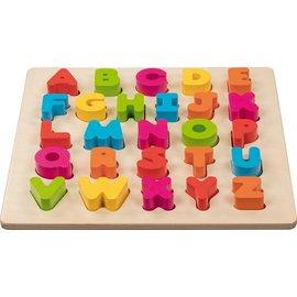 Goki Goki houten alfabet puzzel 3D