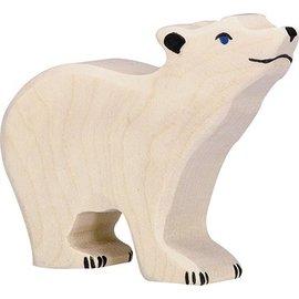Holztiger Holztiger ijsbeer klein