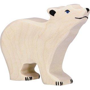 Holztiger Holztiger ijsbeer klein 80209